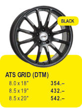 ATS GRID (DTM) - BLACK