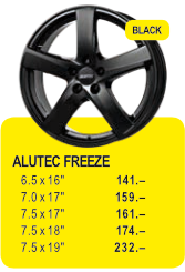 ALUTEC FREEZE - BLACK