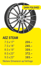 AEZ STEAM - DARK POLISHED