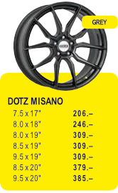 DOTZ MISANO - GREY