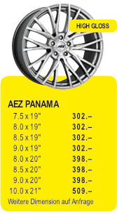 AEZ PANAMA - HIGH GLOSS