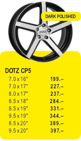 DOTZ CP5 - DARK POLISHED