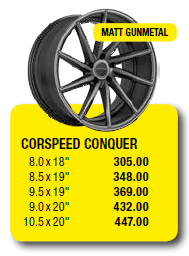CORSPEED CONQUER