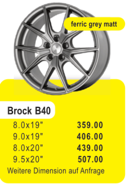BROCK B40